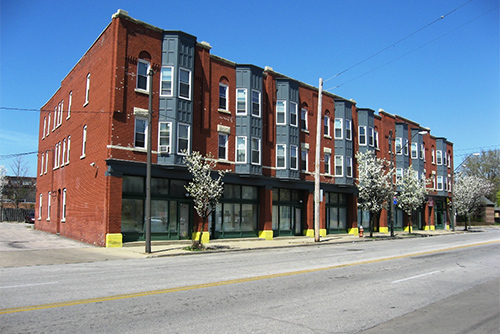 The Body Block Arcade Apartments, 4925 Payne Ave. & 1692 East 55th Street, Cleveland, OH 44103