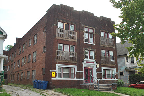 The Hruby Apartments, 10722 Lee Avenue, Cleveland, OH 44106